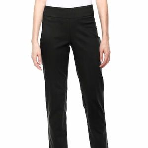 Vera Wang Pull On Skinny Ankle Pants Black Large